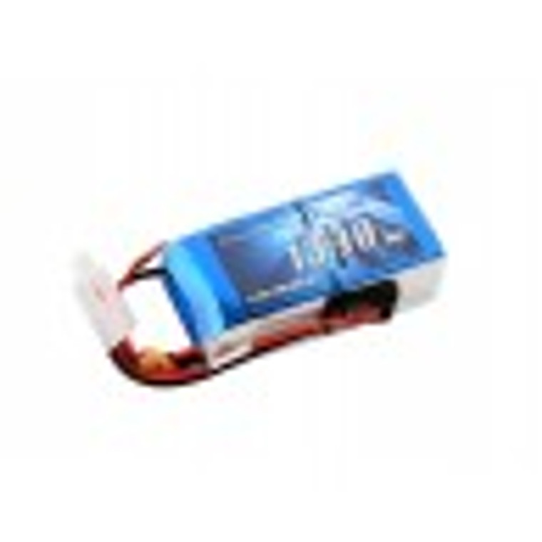 Gens ace 1300mAh 11.1V 25C 3S1P Lipo Battery Pack with JST-SYP plug