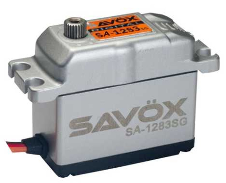 Savox SA-1283SG Super Torque Steel Gear Digital Servo- 0.13 / 416.6