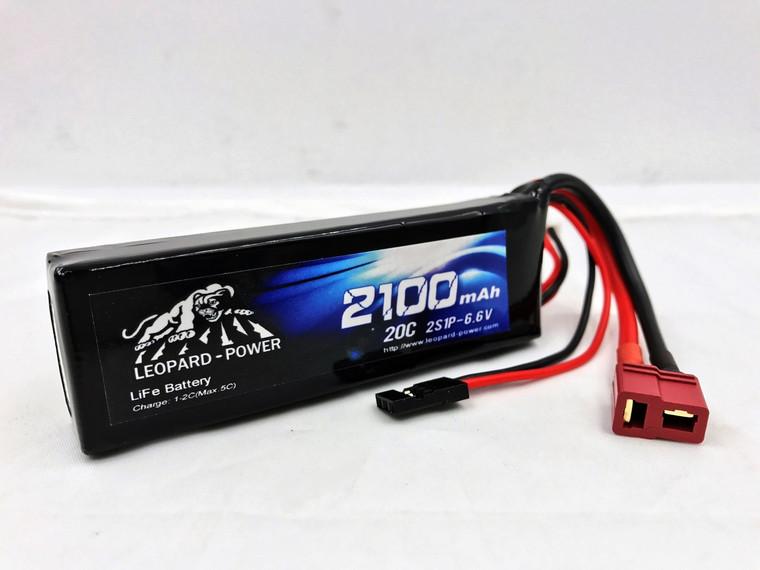Leopard Power  2100 Mah 2S  20c LiFe Receiver Pack