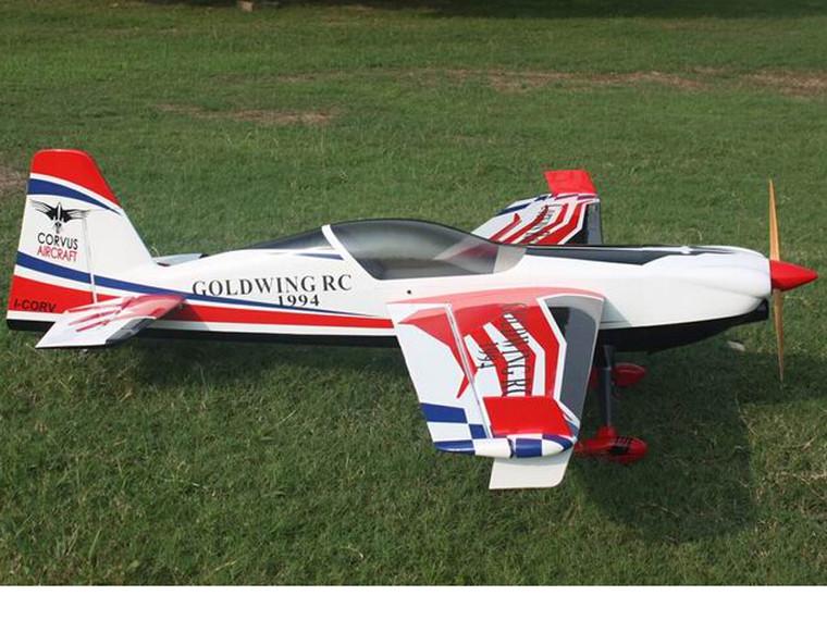 "Goldwing 91"" Corvus 50-60cc white/Red/Blue"