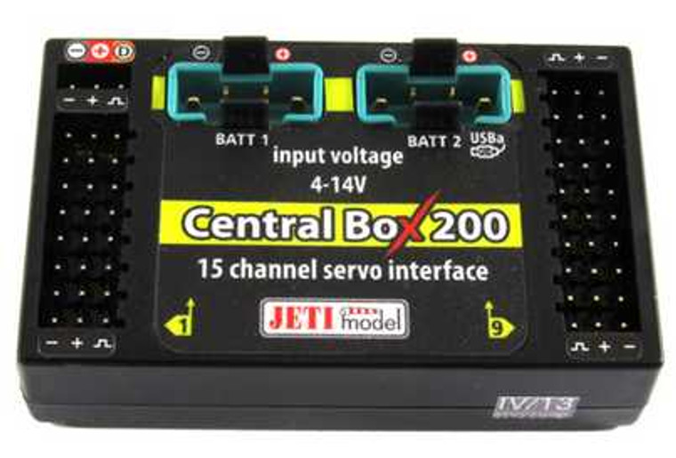 Jeti Central Box 210 Power Dist  Combo (w/ R3's)