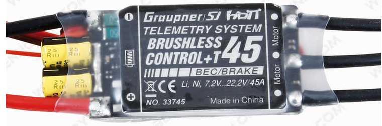 Graupner Brushless Control + T45A G3.5 ESC