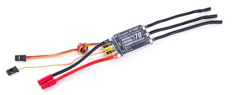 Graupner Brushless Control + T70 G3.5