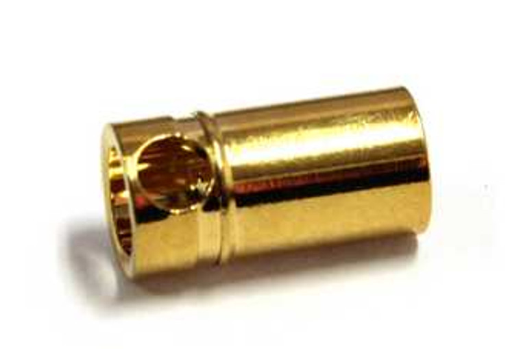 Graupner 6mm Gold Female Connectors (10 pcs)