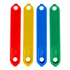 Photo #4 - Red, yellow, blue, and green bands for receiver