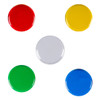 Image 6 - Red, yellow, clear, green, and blue switch tops