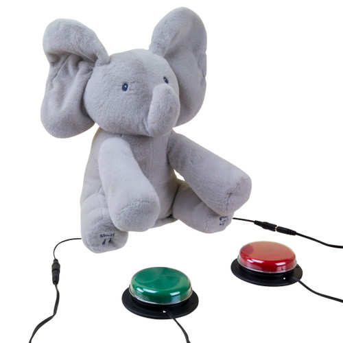 Photo #1 - Switch Adapted Flappy The Elephant with two switches attached