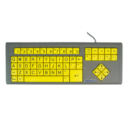 Photo #2 BigKeys LX Keyboard with yellow keys