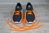 Neon Orange Sneaker Fashion Laces