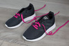 Fuchsia Sneaker Fashion Laces