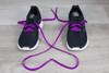 Violet Sneaker Fashion Laces