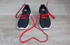 Red Sneaker Fashion Laces