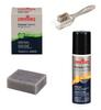 Suede Cleaner Bar, Suede Color Restorer, Suede 4-way brush