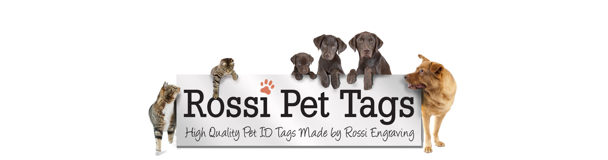 Rossi Pet Tags