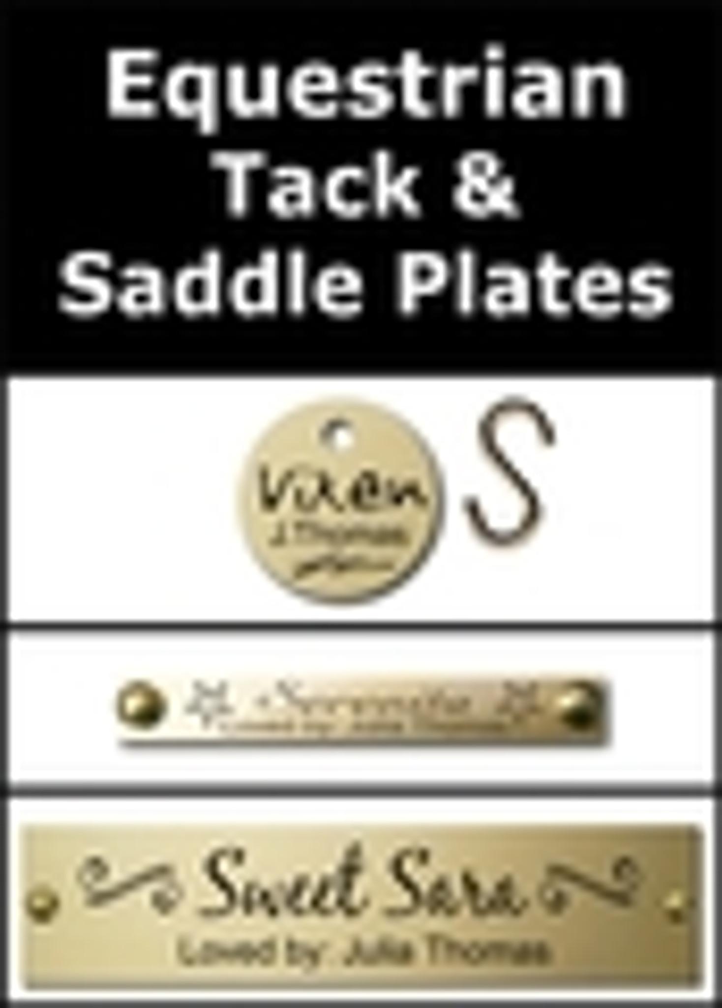 Equestrian Tack & Saddle Plates