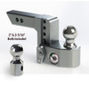 "Weigh Safe 2"" Adjustable Hitch with Max Drop at 4"""