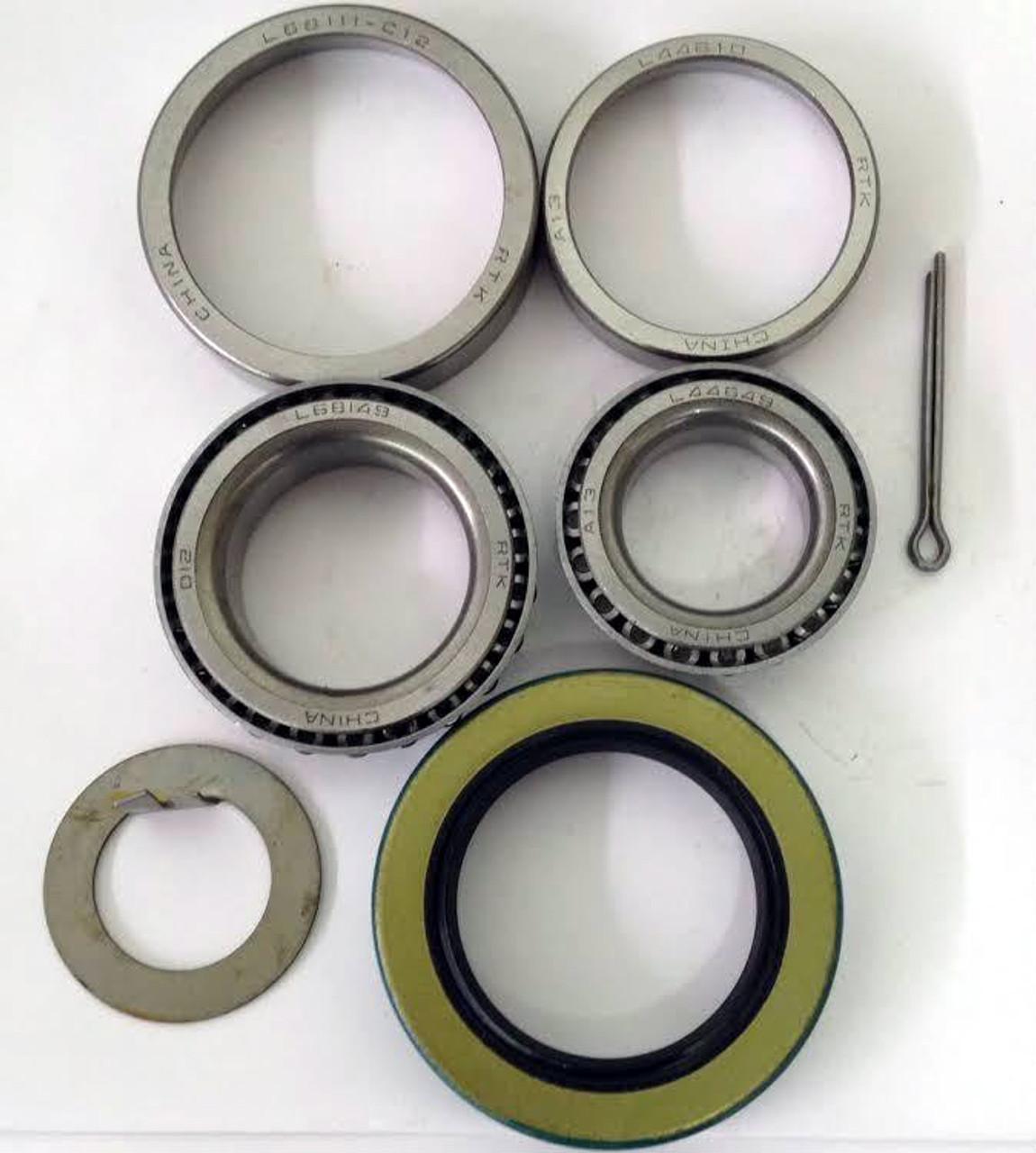K2-100 3,500 lb.Trailer Kit L44649//10 L68149//11 Bearings 10-19 Seal Qty. 4