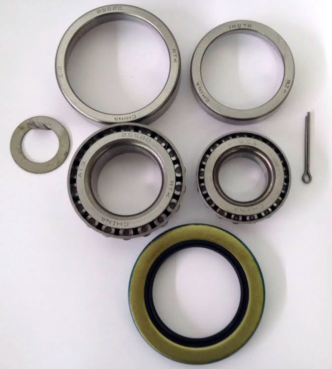 1-1//16 Utility Trailer Wheel Bearings And Seal Kit
