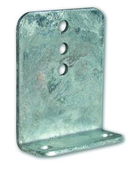 "Galvanized 10"" Mounting Brackets, Timber Brackets"