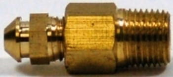 "Kodiak 1/8"" NPT X 1/4"" - 28 Brass Bleed Screw And Adapter"