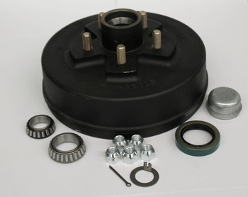 "Trailer Hub Drum - 10"" 5 Lug on 4.5"