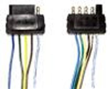 5 Pole Flat 35' Male Trailer Side Wiring Harness