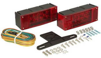Low Profile LED Trailer Light Kit