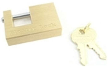 Master Lock Brass Coupler Latch Lock 3/4""
