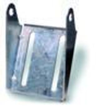 "10""  Galvanized Keel Roller Bracket"