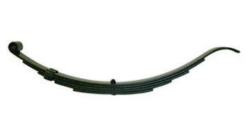 "5 Leaf 32"" Slipper Trailer Spring - 1400#"