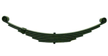 "6 Leaf 25-1/4"" Double Eye Trailer Spring - 3300#"