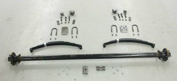 "89"" 3500# Single  Axle Undercarriage  Kit"