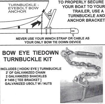 Turn Buckle Kit Install