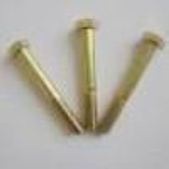 GRADE 8 HEX HEAD YELLOW ZINC PLATED BOLT WITH LOCK NUT