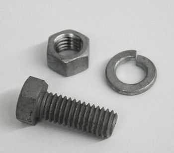 "7/16"" Galvanized Straight Bolts"
