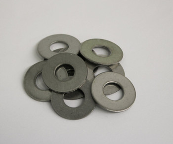 Stainless Steel Flat Washers - Bag of 10