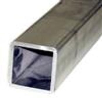 "Aluminum Box Tube - .25"" x 3"" x 3"" (Sold Per Foot)"