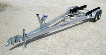 Dual Axle Aluminum Boat Trailer