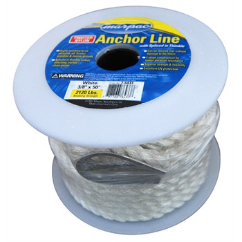 Anchor Line - Twisted Nylon 3/8 x 50ft