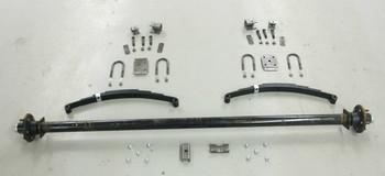 "915"" 3500# Single  Axle Undercarriage  Kit"