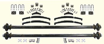 "91"" 3500# Tandem Axle Undercarriage Kit"