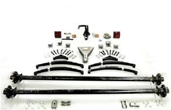 "91"" 3500# Tandem Trailer Parts Kit"