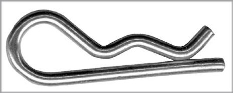 Safety Clip For Hitch Pin (Clip Only)