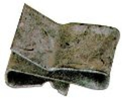 Galvanized Wire Mounting Clips (10 Pack)