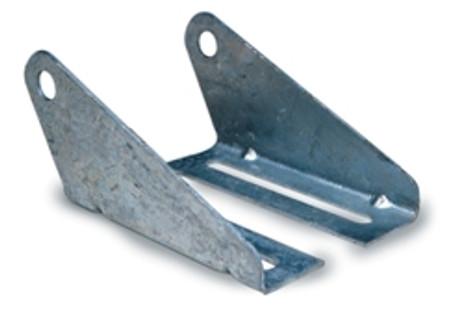 Galvanized Split Roller Brackets (Pr)