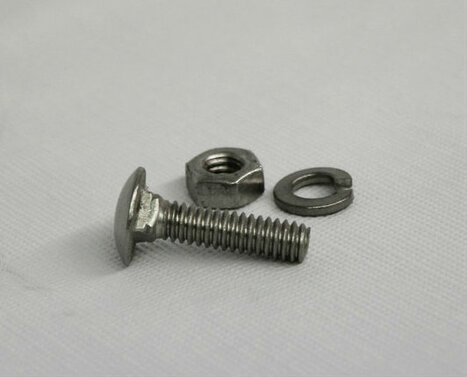 "3/8"" Stainless Steel Carriage Bolts"