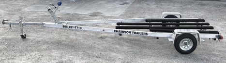Single Axle Aluminum Boat Trailer