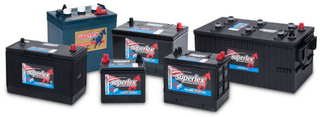 Superlex Marine Batteries
