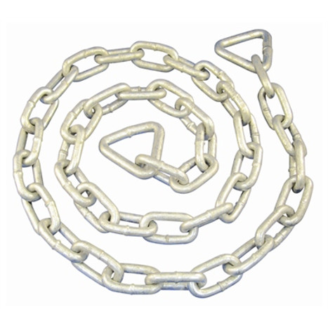 Anchor Chain Lead, Galvanized 1/4 x 4ft