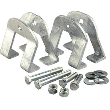 I-Beam Mounting Kit for PVC Guides